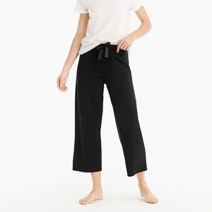 J.Crew Dreamy Cotton Wide Leg Sleep Pant Sz Large